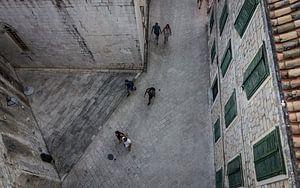 Straten van Dubrovnik van