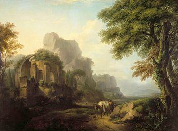 Südliches Caprice, Isaak von Moucheron