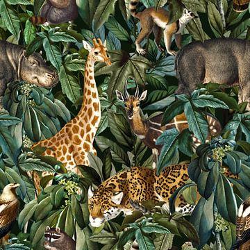 Urban Jungle Treffen von Rudy en Gisela Schlechter