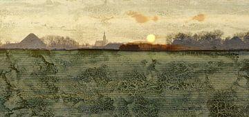 Noord-Hollands landschap van Ger Veuger