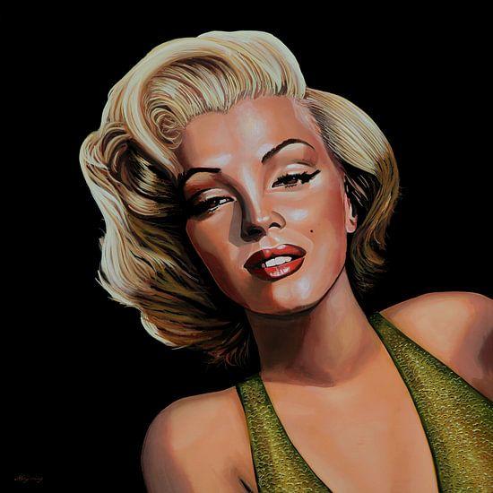 Marilyn Monroe Schilderij 2 van Paul Meijering