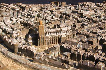 Maquette de la vieille ville de Deventer sur Bobsphotography