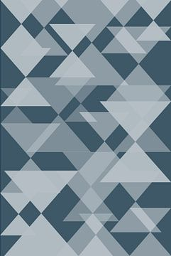 Abstract cubism Geometric Forms von arte factum berlin