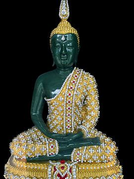 Smaragden Budha van Eduard Lamping