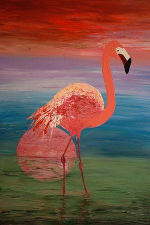 Flamingo von Angelique van 't Riet