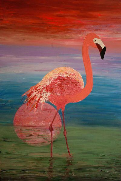 Flamingo van Angelique van 't Riet