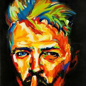 Motiv David Bowie Classic von Felix von Altersheim