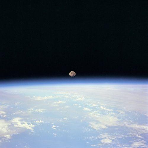 Maan Achter de Aarde van