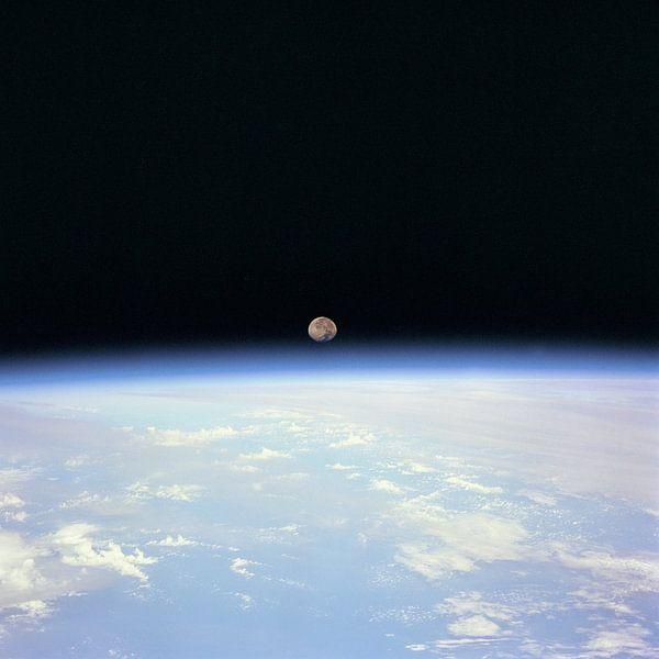 Maan Achter de Aarde van Digital Universe