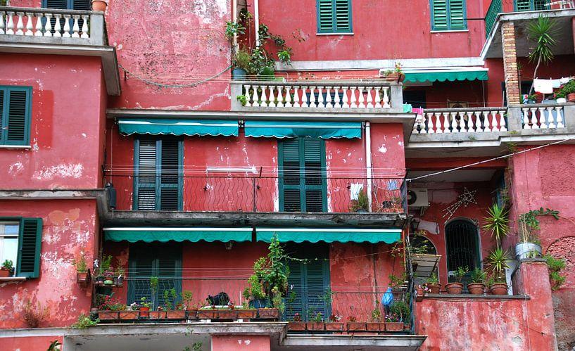 Rote Häuser von Homemade Photos