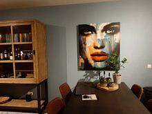 Kundenfoto: Just Face 900 3 D Abstrakt Game von Felix von Altersheim, auf leinwand