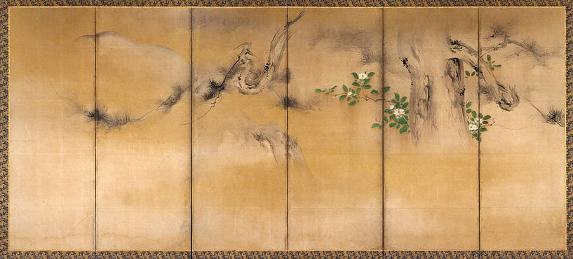 Kaihō Yūshō. Winter- und Sommerblumen von 1000 Schilderijen