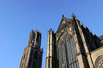 Domtoren en Domkerk in Utrecht sur Merijn van der Vliet