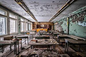 School in Chernobyl