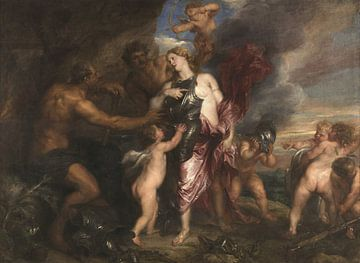 Thetis recevant une armure pour Achille de Hephaestus, Anthony van Dyck
