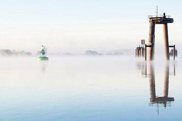 Misty shipyard van