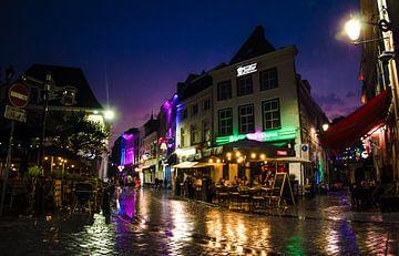 De Havermarkt bij nacht van Floris Oosterveld