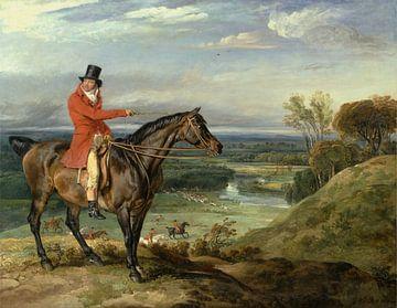 John Levett jagt in Wychnor, Staffordshire, James Ward