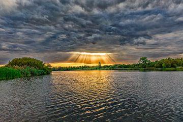 Landschaft mit Himmelstor von Fotografiemg