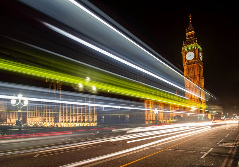 Westminster Bridge van Rene Ladenius Digital Art