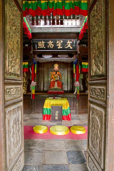 Tempeltje bij Baisha Frescoes