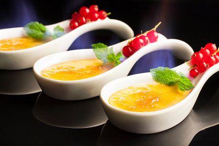 Trio von Crème brûlée