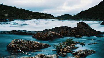 Een waterval in Noorwegen van mario proeter