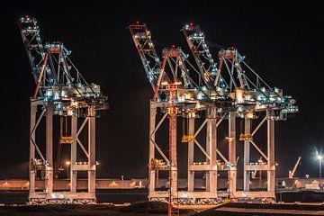 Container Terminal Zeebrugge sur Frans Janssen