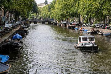 Kanal von Amsterdam von Frans Versteden
