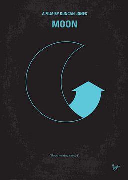 No053 My Moon 2009 minimal movie poster van Chungkong Art