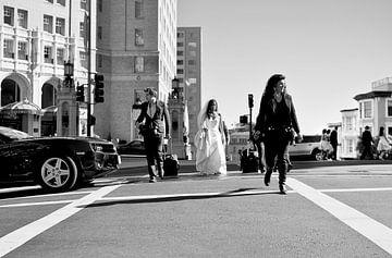 Bruid In San Francisco von Irene Kuizenga