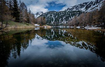 Lai da Palpuogna Abula Pass Zwitserland von Mario Calma
