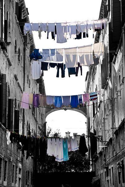 Italië - Ventië waslijnen van Mark de Boer - Artistiek Fotograaf