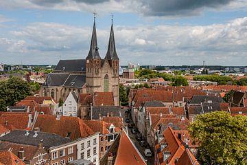 Bergkerk in Deventer van VOSbeeld fotografie