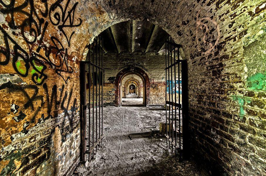 Through the gate van Igwe Aneke