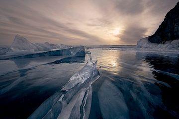 Einrisse im Eis von Jeroen Florijn