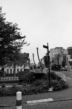 Utrecht -  Brug over de gracht van Wout van den Berg