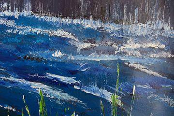 Wildes Wasser von Susanne A. Pasquay