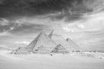 De piramides van Gizeh van Günter Albers