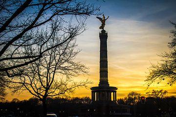 Victory toren in Berlijn van Gabriella Sidiropoulos