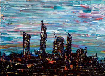 Lichter der Stadt von Erik Tanghe