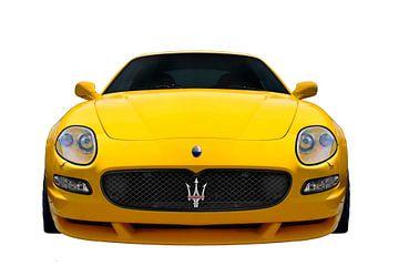 Maserati GranSport in Original gelb von aRi F. Huber