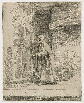 Der blinde Tobias: Gesamtbild, Rembrandt van Rijn