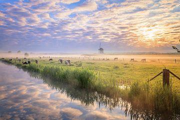 Hollandse luchten vervelen nooit... van Sander Peters Fotografie