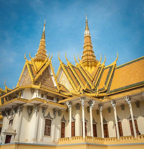 Koninklijk Paleis, Cambodja van Rietje Bulthuis