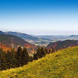 Oberstdorf-bekken met Nebelhorn in Oberallgäu van Reiner Würz / RWFotoArt