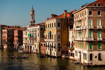 Venetië in het avondzonnetje van Damien Franscoise