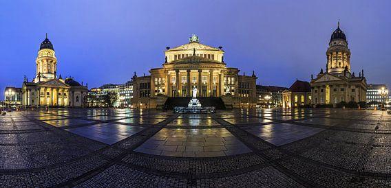 Gendarmenmarkt Berlijn na de regen