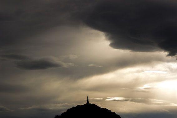 Zonsondergang San Sebastiaan van Tomas Grootveld