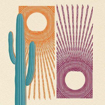 Saguaro oasis van Klaudia Kogut